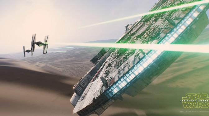 The Force Awakens in de bioscoop!